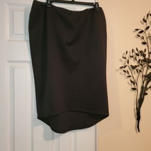 Bisou Bisou High-low Skirt - XL